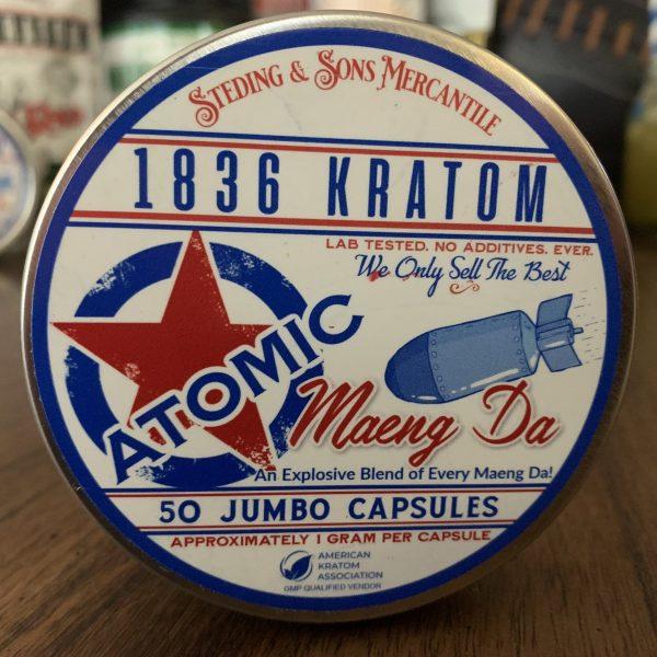 1836 Kratom Atomic Capsules 50