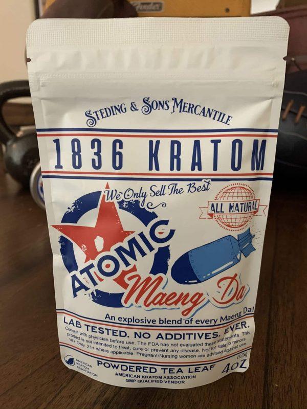 1836 Atomic Raw powder 4oz