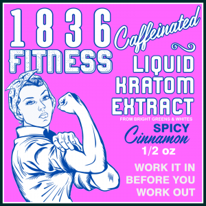 1836 Fitness Cinnamon Label