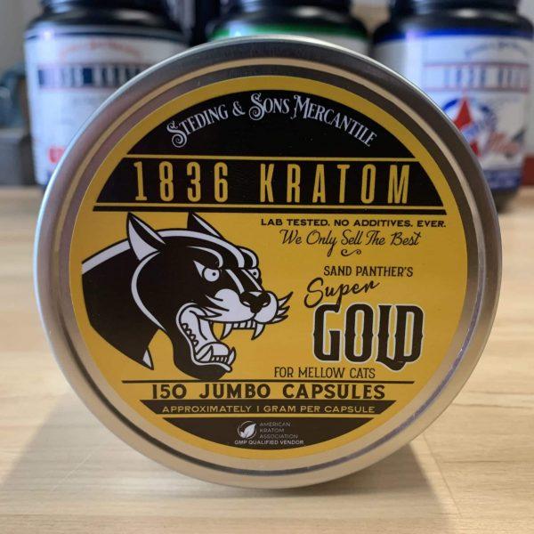 1836 Kratom Gold 150 Caps