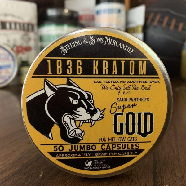 1836 Gold Kratom Capsules, 1836 Kratom Gold 50 Caps, Brands, 1936 Kratom, Whole Earth Gifts