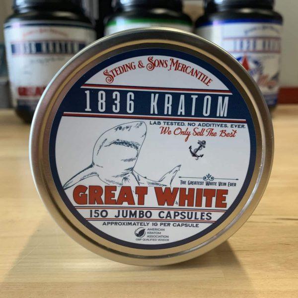 1836 Kratom Great White 150 Caps