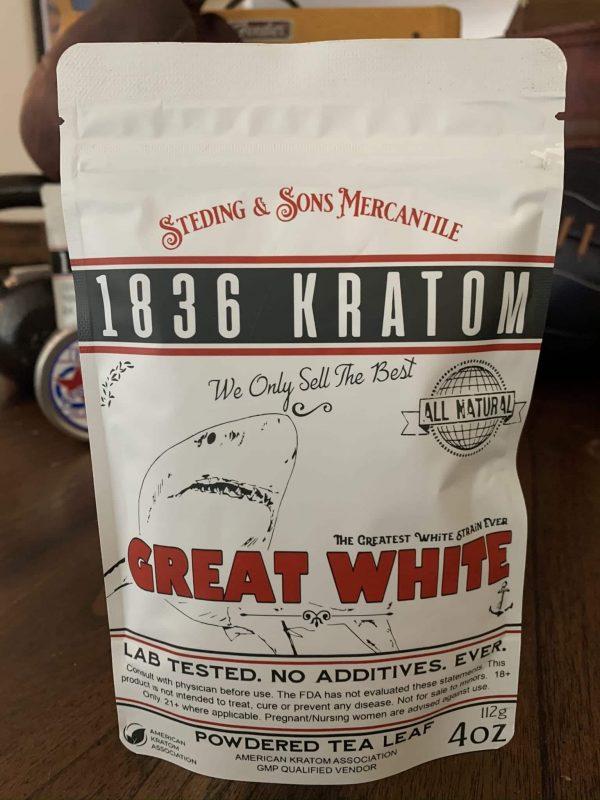 1836 Kratom Great White 4oz