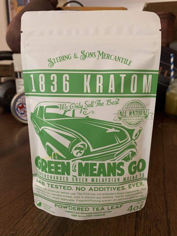 1836 Kratom Green Means Go 4oz