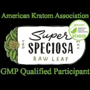 Super Speciosa Logo w/AKA Stamp