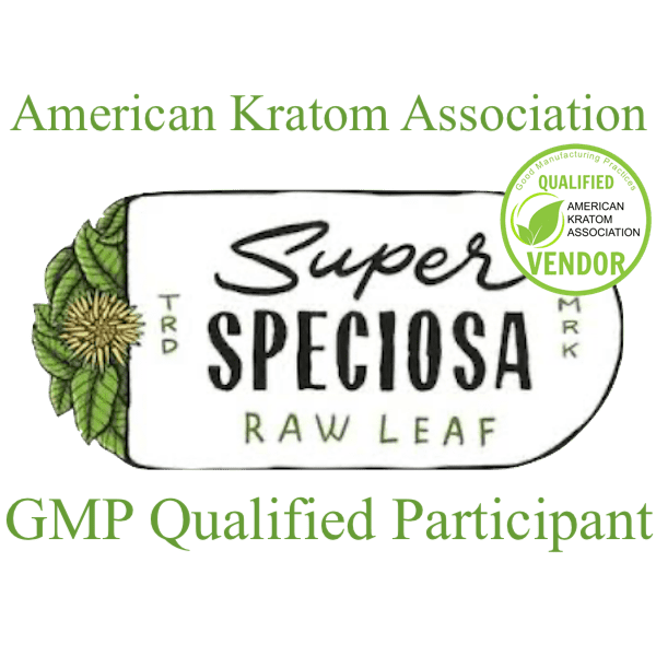 lab tests, Super Speciosa Logo w/AKA Stamp