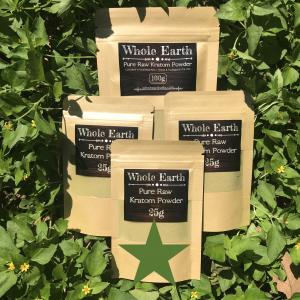 Whole Earth Premium Kratom 175g Green