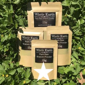 Whole Earth Premium Kratom 175g White