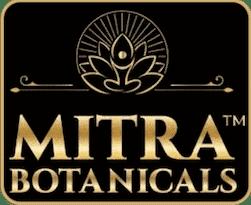 Mitra Botanicals Logo Gold Border