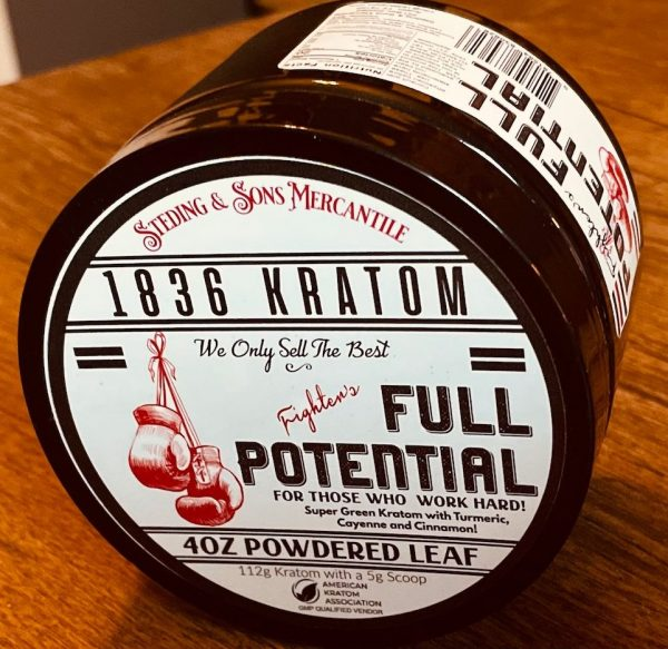 Whole Earth Gifts 1836 Kratom Fighters Full Potential