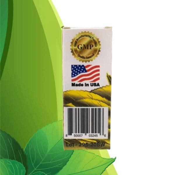 Zion Herbals Lucky 80 Liquid Kratom Extract Back 1