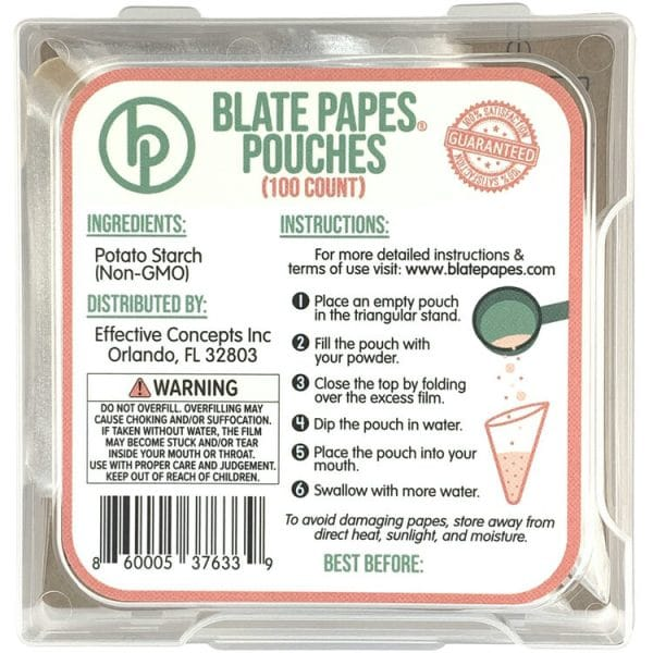 Blate Papes Oblate Discs - available now at WholeEarthGifts.com